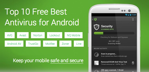 Top 10 Free Best Antivirus For Android Device - Applications