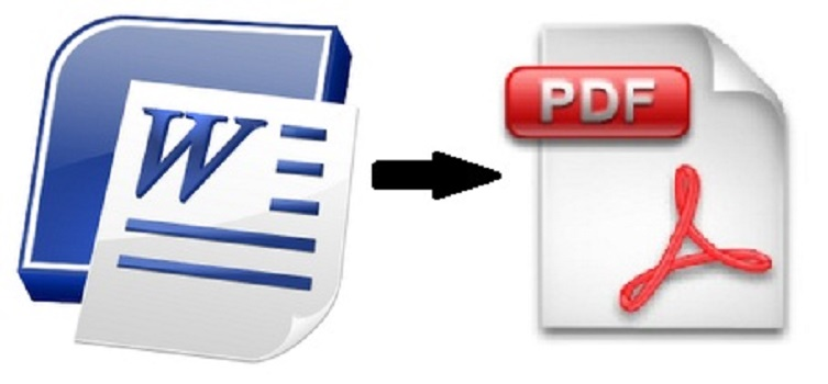 Word To PDF Converter - Using MS Office Word 2013